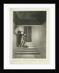 The Glow Worm; a watchman with his lantern in Lansdown Passage, Westminster, London by George Hayter