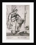 Mackerel seller, Cries of London by Paul Sandby
