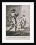 Street entertainers, Cries of London by Paul Sandby