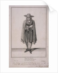 John the Quaker, Cries of London, (c1688?) by Anonymous