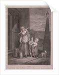 Milk below Maids, Cries of London by Luigi Schiavonetti