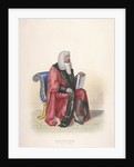 Recorder of the City of London, Sir John Silvester, in civic costume by Thomas Lord Busby