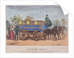 Passengers using Shillibeer's omnibus, London by Anonymous