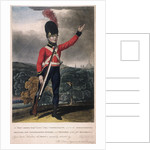Military figure in the uniform of the fifth regiment of the Loyal London Volunteers by Anonymous