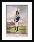 Military figure in the uniform of the Honourable Artillery Company by Anonymous
