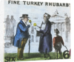 Fine Turkey Rhubarb!, Cries of London by TH Jones