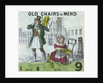 Old Chairs to Mend, Cries of London by TH Jones
