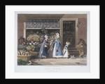 London Market'; a fruit seller by Matthew Dubourg