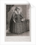 Queen Elizabeth I holding sceptre and orb by Charles Turner
