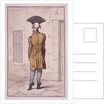 John Burges MD by James Gillray
