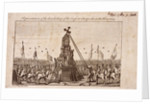 The destruction of the Cheapside Cross, London by Anonymous