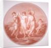 The Three Graces and Cupid by Gavrila Ivanovitch Scorodomoff