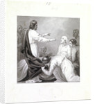 Christ healing a sick man by Henry Corbould