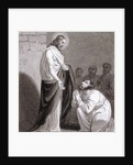 Christ and St Thomas by Henry Corbould