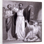 St Peter healing the Cripple at Lystra by Henry Corbould