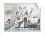 The head ache by George Cruikshank