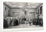 Lord Mayor, Sir William Magnay, Windsor Castle, Berkshire by Jacques Francois Gauderique Llanta
