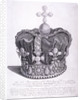 Imperial crown of state worn by King George III on his coronation by Anonymous