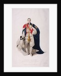 Knight of the Garter in ceremonial costume by William Bond
