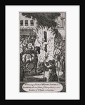 The execution of Reverend John Rogers at Smithfield, 1555 by Anonymous