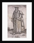 A citizen of London in civic costume by