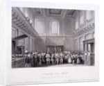 Interior view of the Banqueting House at Whitehall, Westminster, London by Harlen Melville
