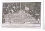 Proposed plan for the rebuilding of the City of London after the Great Fire in 1666 by Anonymous