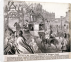 Royal cortège for the marriage of Prince Edward and Princess Alexandra by Anonymous