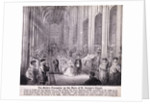 Princess Alexandra processing up the nave of St George's Chapel, Windsor Castle by Anonymous