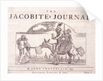 The Jacobite's journal by William Hogarth