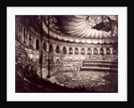 Interior view of the Royal Albert Hall, Kensington, London by