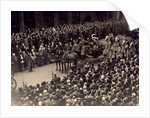 View showing part of the Jubilee Procession of King George V and Queen Mary, May 6 1935 by Anonymous