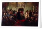 Presentation of the Freedom of the City to General Garibaldi, April 20 1864' by Sir John Gilbert