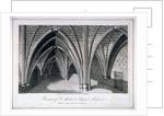 St Michael's Crypt, Aldgate, London by Samuel Owen