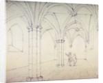 St Michael's Crypt, Aldgate, London, c1820(?) by