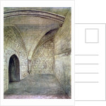 St Michael's Crypt, Aldgate, London by John Phillipps Emslie