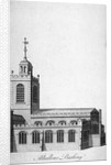 All Hallows-by-the-Tower Church, London by Benjamin Cole