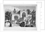 All Hallows-by-the-Tower Church, London by John Le Keux
