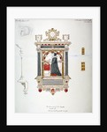 Monument in the Church of St Andrew Undershaft, Leadenhall Street, London, c1820 by