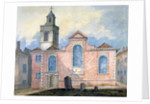 Exterior view of St Anne and St Agnes, City of London by William Pearson