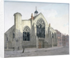 View of the west end of Austin Friars, City of London by Anonymous