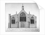 West elevation of Austin Friars, City of London by
