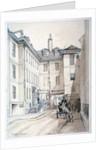 Austin Friars Street, City of London by Thomas Colman Dibdin