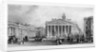 The Bank of England and Royal Exchange, City of London by TA Prior