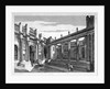 View of Lothbury Court, the Bank of England, City of London by J Burnett