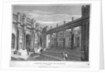 View of Lothbury Court, the Bank of England. City of London by J Burnett