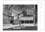 Interior view of the Church of St Bartholomew-the-Great, Smithfield, City of London by Thomas Dale