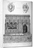 Monument in the Church of St Bartholomew-the-Great, Smithfield, City of London by James Basire I