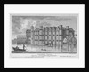 View of Barnard's Castle with boats on the River Thames, City of London by A Birrell