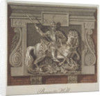 Inn sign for the George and Dragon Inn, Bennet's Hill, City of London by John Pass